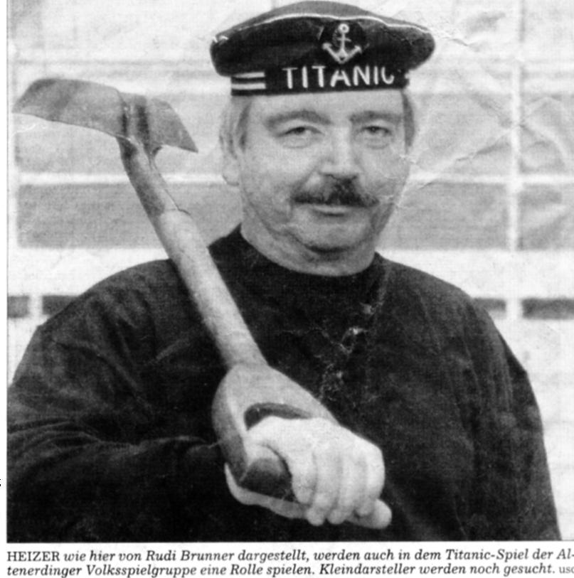 Titanic Besatzung
